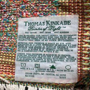 Thomas Kinkade Other - Thomas Kinkade Throw